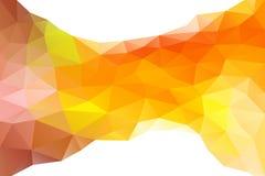 αφηρημένο πολύγωνο Υπόβαθρο Στοκ φωτογραφίες με δικαίωμα ελεύθερης χρήσης