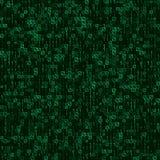 Αφηρημένο πράσινο άνευ ραφής υπόβαθρο τεχνολογίας Στοκ εικόνα με δικαίωμα ελεύθερης χρήσης
