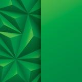 αφηρημένο πράσινο διάνυσμα & Στοκ Εικόνα