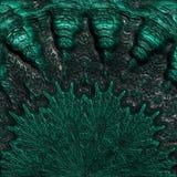 Αφηρημένο πράσινο κοράλλι Στοκ Φωτογραφίες