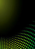 αφηρημένο πράσινο κύμα απεικόνιση αποθεμάτων