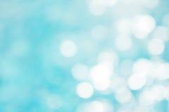 Αφηρημένο πράσινο μπλε υπόβαθρο θαμπάδων, μπλε κύμα ταπετσαριών με το s Στοκ Φωτογραφία