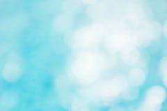 Αφηρημένο πράσινο μπλε υπόβαθρο θαμπάδων, μπλε κύμα ταπετσαριών με το s Στοκ φωτογραφία με δικαίωμα ελεύθερης χρήσης