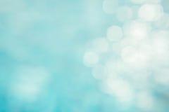 Αφηρημένο πράσινο μπλε υπόβαθρο θαμπάδων, μπλε κύμα ταπετσαριών με το s Στοκ Φωτογραφίες