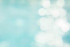 Αφηρημένο πράσινο μπλε υπόβαθρο θαμπάδων, μπλε κύμα ταπετσαριών με το s Στοκ εικόνα με δικαίωμα ελεύθερης χρήσης
