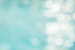 Αφηρημένο πράσινο μπλε υπόβαθρο θαμπάδων, μπλε κύμα ταπετσαριών με το s Στοκ Εικόνα