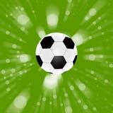 αφηρημένο πράσινο ποδόσφαι& Στοκ φωτογραφία με δικαίωμα ελεύθερης χρήσης