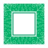 Αφηρημένο πράσινο πλαίσιο Στοκ Εικόνες