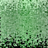 Αφηρημένο πράσινο υπόβαθρο κύκλων Στοκ εικόνες με δικαίωμα ελεύθερης χρήσης