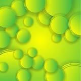 Αφηρημένο πράσινο υπόβαθρο διανυσματική απεικόνιση