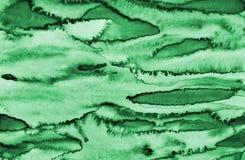 Αφηρημένο πράσινο watercolor στη σύσταση εγγράφου ως υπόβαθρο διανυσματική απεικόνιση