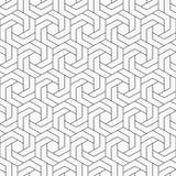 αφηρημένο πρότυπο άνευ ραφή&sig Εξαγωνικό πλέγμα Στοκ Φωτογραφίες