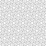 αφηρημένο πρότυπο άνευ ραφή&sig Εξαγωνικό πλέγμα Στοκ Εικόνες