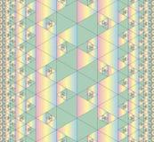 αφηρημένο πρότυπο άνευ ραφή&sig Στοκ Εικόνα