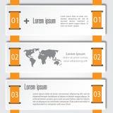 Αφηρημένο πρότυπο επιλογών αριθμού infographics επίσης corel σύρετε το διάνυσμα απεικόνισης μπορέστε να χρησιμοποιηθείτε για το σ Στοκ Εικόνα