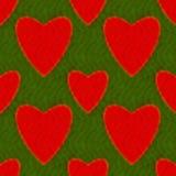 αφηρημένο πρότυπο καρδιών Στοκ Εικόνες