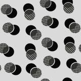 αφηρημένο πρότυπο κύκλων Στοκ εικόνα με δικαίωμα ελεύθερης χρήσης