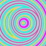 αφηρημένο πρότυπο κύκλων διανυσματική απεικόνιση
