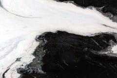 αφηρημένο πρότυπο μαύρο λευκό Στοκ φωτογραφία με δικαίωμα ελεύθερης χρήσης