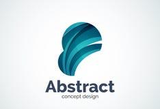 Αφηρημένο πρότυπο λογότυπων φυσαλίδων, έννοια σύννεφων σκέψης ή διόγκωση απεικόνιση αποθεμάτων