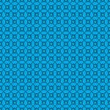 Αφηρημένο πρότυπο στην μπλε ανασκόπηση Στοκ Εικόνα