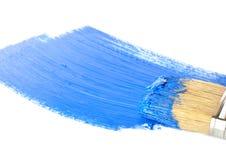Αφηρημένο πρότυπο στο μπλε Στοκ φωτογραφία με δικαίωμα ελεύθερης χρήσης