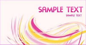 αφηρημένο πρότυπο σχεδίου επαγγελματικών καρτών Στοκ Εικόνες
