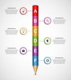 Αφηρημένο πρότυπο σχεδίου infographics επιλογών Στοκ Φωτογραφία
