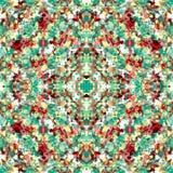 Αφηρημένο πρότυπο χρώματος Στοκ Εικόνες