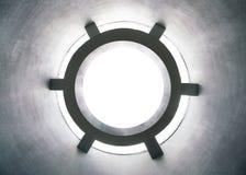 Αφηρημένο πλαίσιο κύκλων από τη σήραγγα Στοκ εικόνα με δικαίωμα ελεύθερης χρήσης