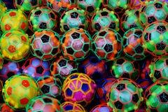 Αφηρημένο πλαστικό ποδόσφαιρο Στοκ Εικόνες