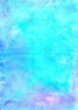Αφηρημένο πλύσιμο που σύρει το καλλιτεχνικό χειροποίητο μπλε υπόβαθρο Aguac Στοκ εικόνα με δικαίωμα ελεύθερης χρήσης