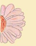 αφηρημένο ροζ λουλουδ&io διανυσματική απεικόνιση