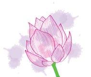 αφηρημένο ροζ λουλουδ&iot Στοκ φωτογραφία με δικαίωμα ελεύθερης χρήσης
