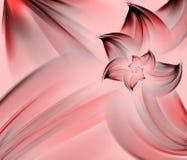 αφηρημένο ροζ πετάλων λουλουδιών Στοκ Εικόνες