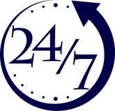 αφηρημένο ρολόι Στοκ εικόνες με δικαίωμα ελεύθερης χρήσης