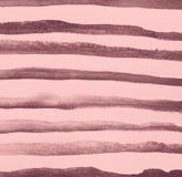 Αφηρημένο ρόδινο watercolor στη σύσταση εγγράφου ως υπόβαθρο απεικόνιση αποθεμάτων