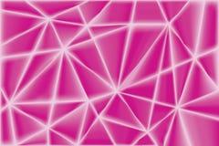 Αφηρημένο ρόδινο γεωμετρικό υπόβαθρο τριγώνων Στοκ φωτογραφία με δικαίωμα ελεύθερης χρήσης