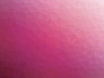 Αφηρημένο ρόδινο χαμηλό διαμορφωμένο πολύγωνο υπόβαθρο κλίσης Στοκ εικόνες με δικαίωμα ελεύθερης χρήσης