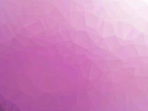 Αφηρημένο ρόδινο χαμηλό διαμορφωμένο πολύγωνο υπόβαθρο κλίσης Στοκ φωτογραφίες με δικαίωμα ελεύθερης χρήσης