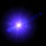 Αφηρημένο σκηνικό φως Στοκ Φωτογραφίες