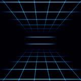 Αφηρημένο σκοτεινό κεραμωμένο υπόβαθρο με μια προοπτική ελεύθερη απεικόνιση δικαιώματος