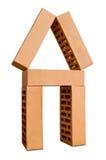 αφηρημένο σπίτι αρχιτεκτο& Στοκ φωτογραφία με δικαίωμα ελεύθερης χρήσης