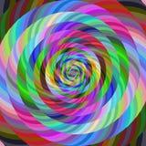Αφηρημένο σπειροειδές fractal υπόβαθρο σχεδίου Στοκ φωτογραφία με δικαίωμα ελεύθερης χρήσης