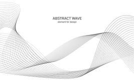 Αφηρημένο στοιχείο κυμάτων για το σχέδιο Ψηφιακός εξισωτής διαδρομής συχνότητας Τυποποιημένο υπόβαθρο τέχνης γραμμών επίσης corel Στοκ φωτογραφία με δικαίωμα ελεύθερης χρήσης
