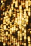 αφηρημένο στοιχείο σχεδίου θαμπάδων ανασκόπησης χρυσό Στοκ Εικόνες