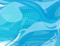 Αφηρημένο στοιχείο σχεδίου υποβάθρου κυμάτων ρέοντας νερού Στοκ Εικόνες