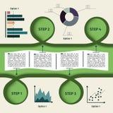 Αφηρημένο στοιχείο Infographics Στοκ Εικόνα