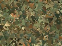 Αφηρημένο στρατιωτικό υπόβαθρο κάλυψης Στοκ Εικόνες