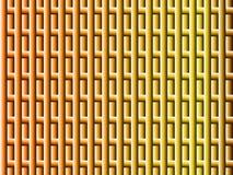 Αφηρημένο συμμετρικό σχέδιο στη yellow-orange κλίση απεικόνιση αποθεμάτων